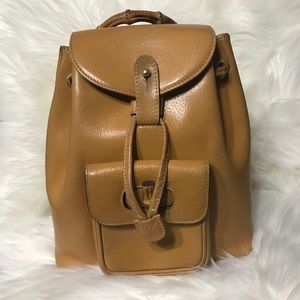 Authentic Gucci bamboo backpack